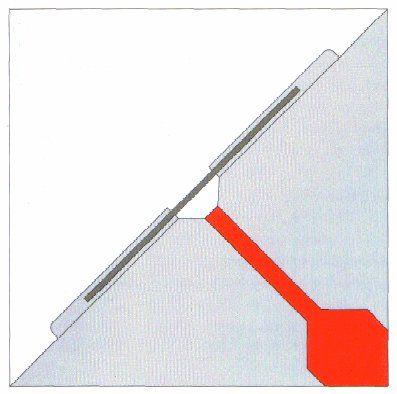 Taśma naklejana TRICOFLEX 250/1