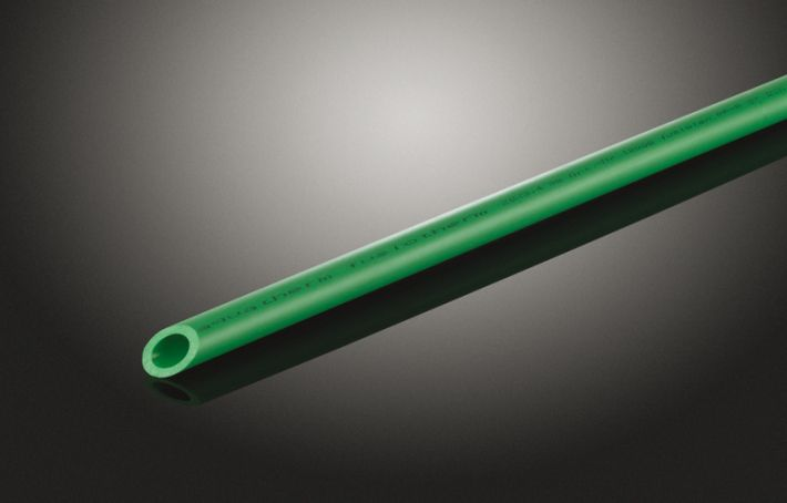 Rura FUSIOTHERM® SDR 6, z PP-R, Ø 63 mm