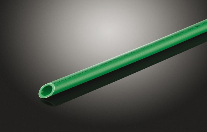 Rura FUSIOTHERM® STABI SDR 7,4; z PP-R, Ø 63 mm