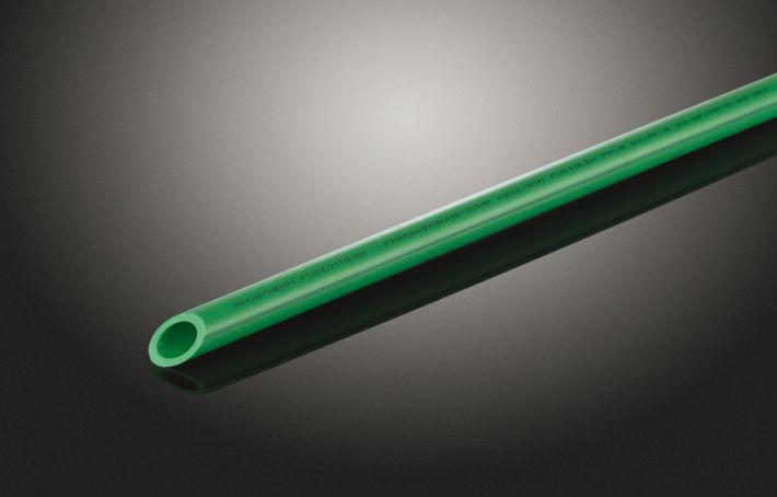 Rura FUSIOTHERM® STABI GLASS SDR 7,4; z PP-R, Ø 63 mm