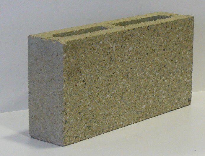 Pustak elewacyjny betonowy PBEU-9-S 390/90/190 mm