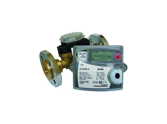 Ultradźwiękowy ciepłomierz CF ECHO II DN20 mm, przepływ 2,5 m³/h