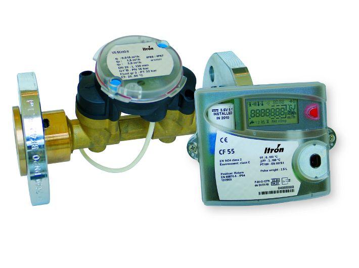 Ultradźwiękowy ciepłomierz CF51/55/US ECHO II DN15/1,5