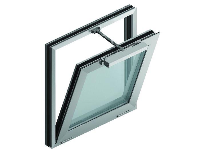 Okno oddymiające fasadowe EURO-SHEV 50/50 cm
