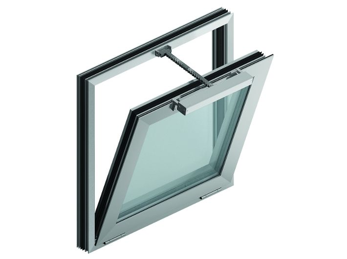 Okno oddymiające fasadowe EURO-SHEV 250/160 cm