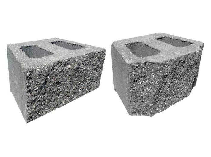 Pustak oporowy betonowy PBO-25 390/250/190 mm