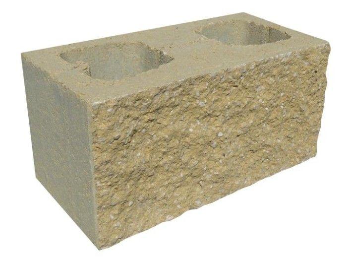 Pustak elewacyjny betonowy PBE-19 390/190/190 mm