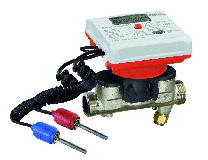 Ultradźwiękowy ciepłomierz CF UltraMax DN20 mm, przepływ 2,5 m³/h