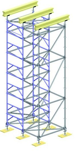 Wieża podporowa LAYHER TG 60, szer./dł w rzucie poz. 1,09/1,57 m