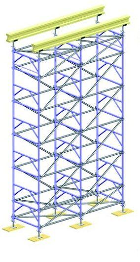Wieża podporowa LAYHER TG 60, szer./dł w rzucie poz. 1,09/2,07 m