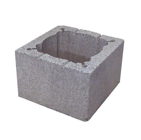Pustak kominowy keramzyto-betonowy PK 380/380/245 mm