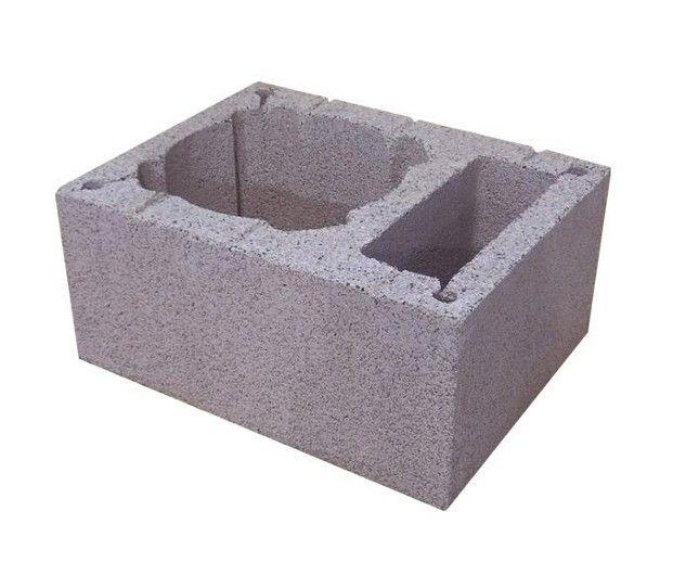 Pustak kominowo-wentylacyjny keramzyto-betonowy PKW 520/380/245 mm