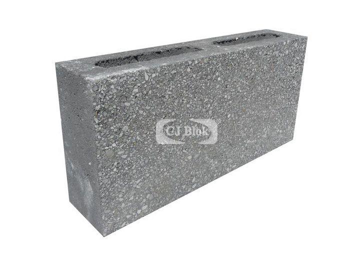 Pustak betonowy elewacyjny szlifowany PBES-9 390/90/190 mm