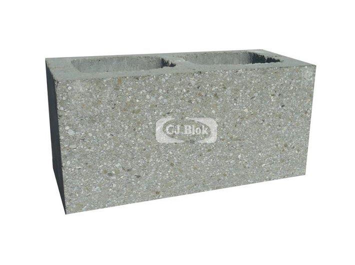 Pustak betonowy elewacyjny szlifowany PBES-9 390/190/190 mm