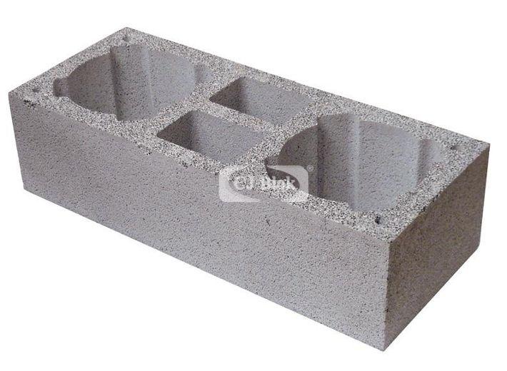 Pustak kominowo-wentylacyjny keramzyto-betonowy PKW 890/360/245 mm