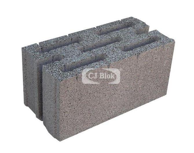 Pustak keramzyto-betonowy ścienny PSK-24 490/240/240 mm