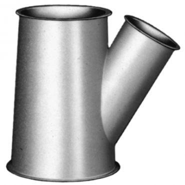 Trójnik redukcyjny, niesymetryczny systemu firmy Jacob, Ø 800 mm, 30°