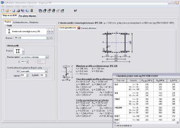 Program Kalkulator Elementów Stalowych