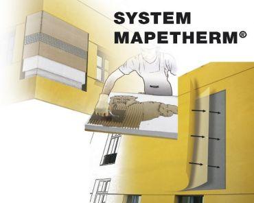 Bezspoinowy system ociepleń MAPETHERM<sup>&#174;</sup> (styropian, tynk mineralny)