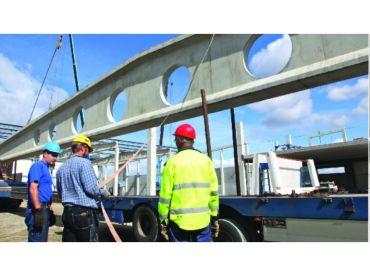 Prefabrykowana belka betonowa PRECON, wys. przekroju 800 mm