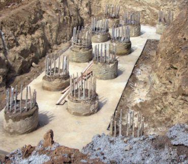 Fundamentowanie obiektów mostowych na palach żelbetowych