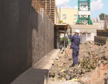 Hydroizolacje fundamentów budynków nowo wznoszonych