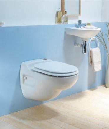 Kompakt WC z wbudowanym rozdrabniaczem SANICOMPACT STAR