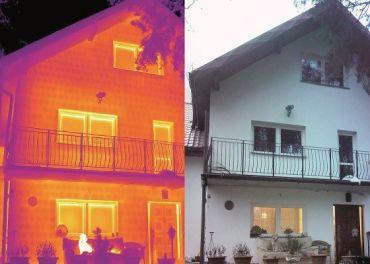 Badania termowizyjne izolacji cieplnej budynków