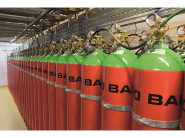 System gaszenia gazem – INERGEN