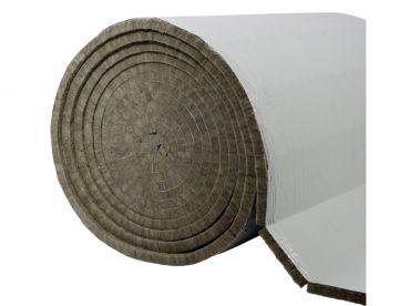 Mata lamelowa z wełny mineralnej skalnej PAROC Hvac Lamella Mat GreyCoat gr. 100, dł. 500