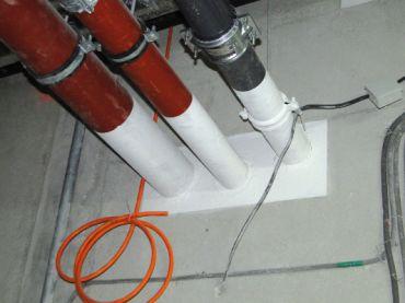 Odporność ogniowa uszczelnień przejść instalacyjnych i dylatacji