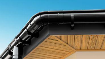 Podbitka dachowa BRYZA PVC, listwa J dł. 4,0 m