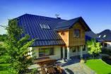 Panel dachowy z rąbkiem stojącym, szer. krycia 300 mm