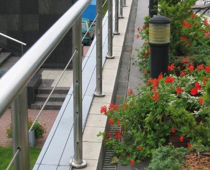 Barbara Francke, Instytut Techniki Budowlanej, Zabezpieczenia wodochronne tarasów i balkonów