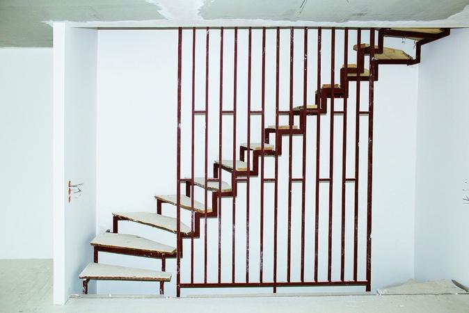 elementy do schodów lekkich z tworzywa Sylomer