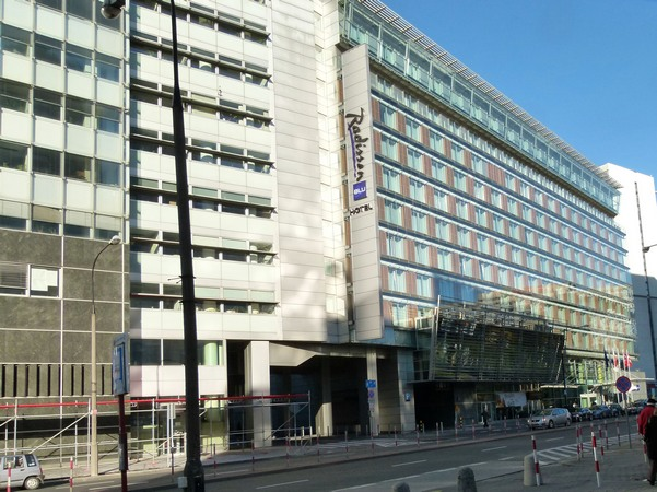 hotel radisson, grzybowska, Warszawa
