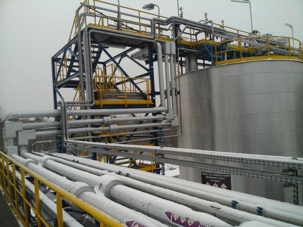 instalacje przemysłowe, rurociagi