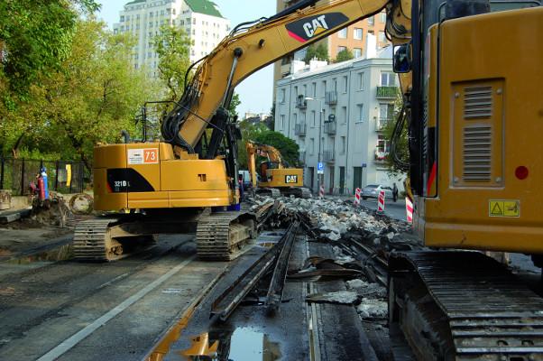 Tree rozbiórki budynków
